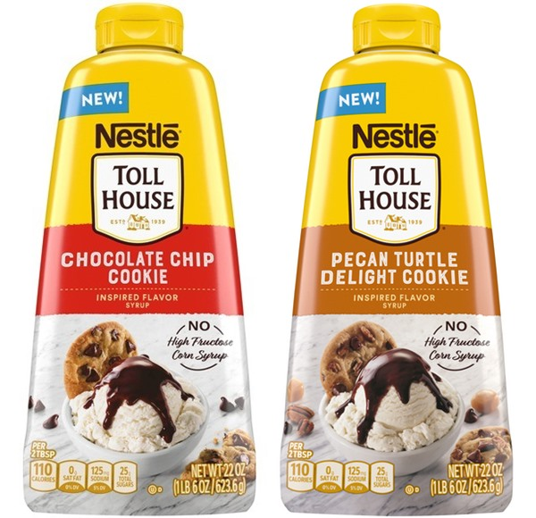 Nestle Tollhouse Syrups are Dairy-Free Chocolate Drizzles in Cookie-Inspired Flavors. Full details and reviews here ... (vegan, made without top allergens)