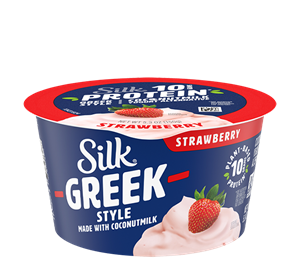 Silk Greek Style Yogurt Reviews and Info - Dairy-free, Plant-Based, Vegan, made with coconut milk and live active cultures