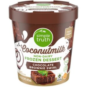 Simple Truth Coconutmilk Frozen Desserts Reviews and Info - Dairy-Free, Vegan Ice Cream in 4 Sundae-Inspired flavors