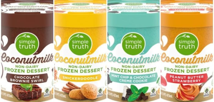 Simple Truth Coconutmilk Frozen Desserts Make Every Day a Sundae