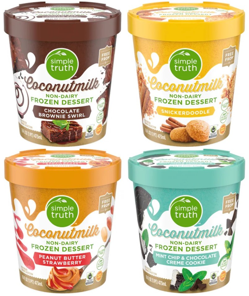 Simple Truth Coconutmilk Frozen Desserts Reviews and Info - Dairy-Free, Vegan Ice Cream in 4 Sundae-Inspired flavors. Select varieties are gluten-free