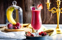 Red Berry All-Fruit Smoothies Recipe - fast, easy, plant-based, allergy-friendly, dairy-free, and gluten-free! Kid and adult-friendly