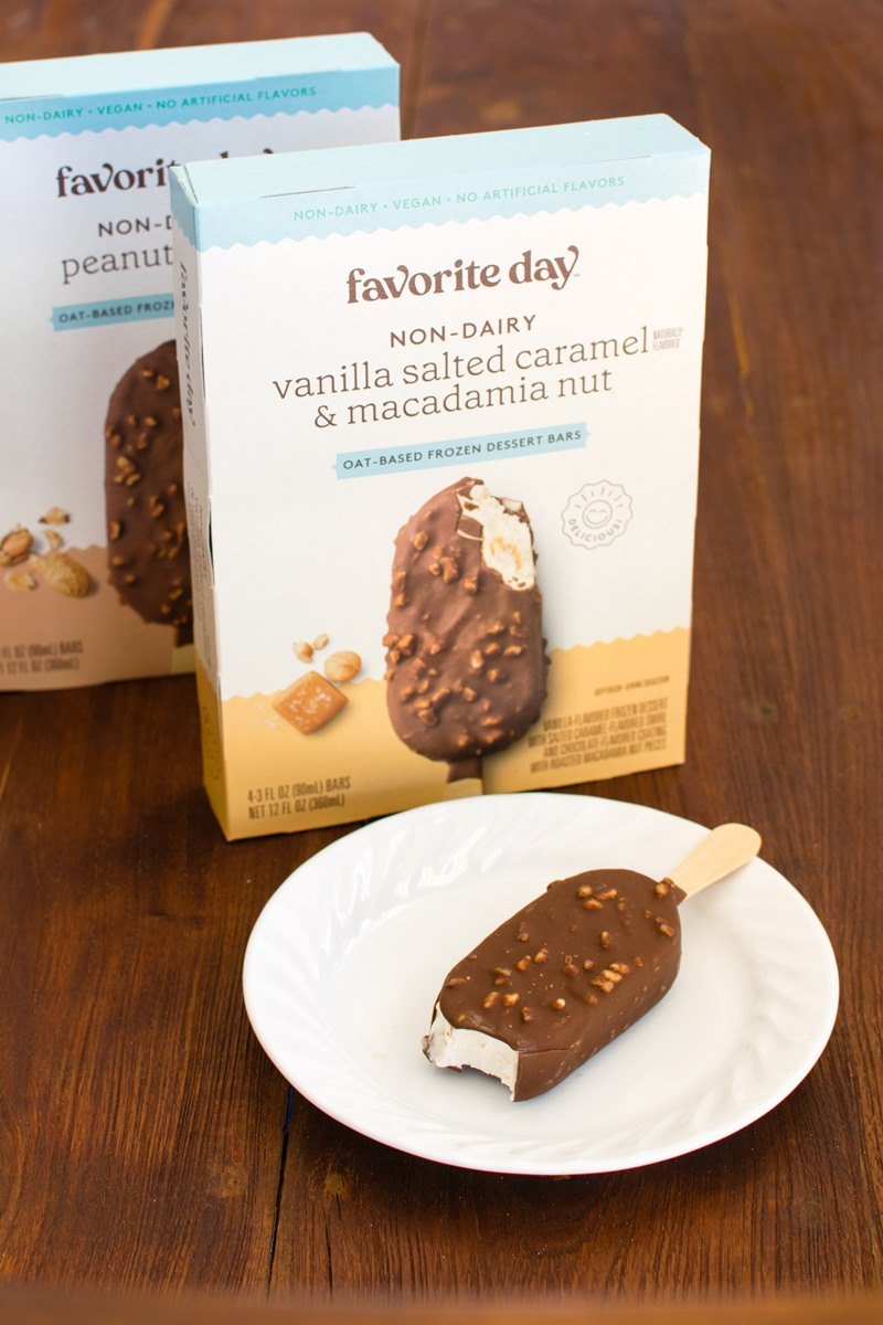 Favorite Day Oat Ice Cream Bars are Cool Vegan Finds at Target - Reviews and Info here on these Non-Dairy / Dairy-Free, Soy-Free Frozen Dessert Bars ...