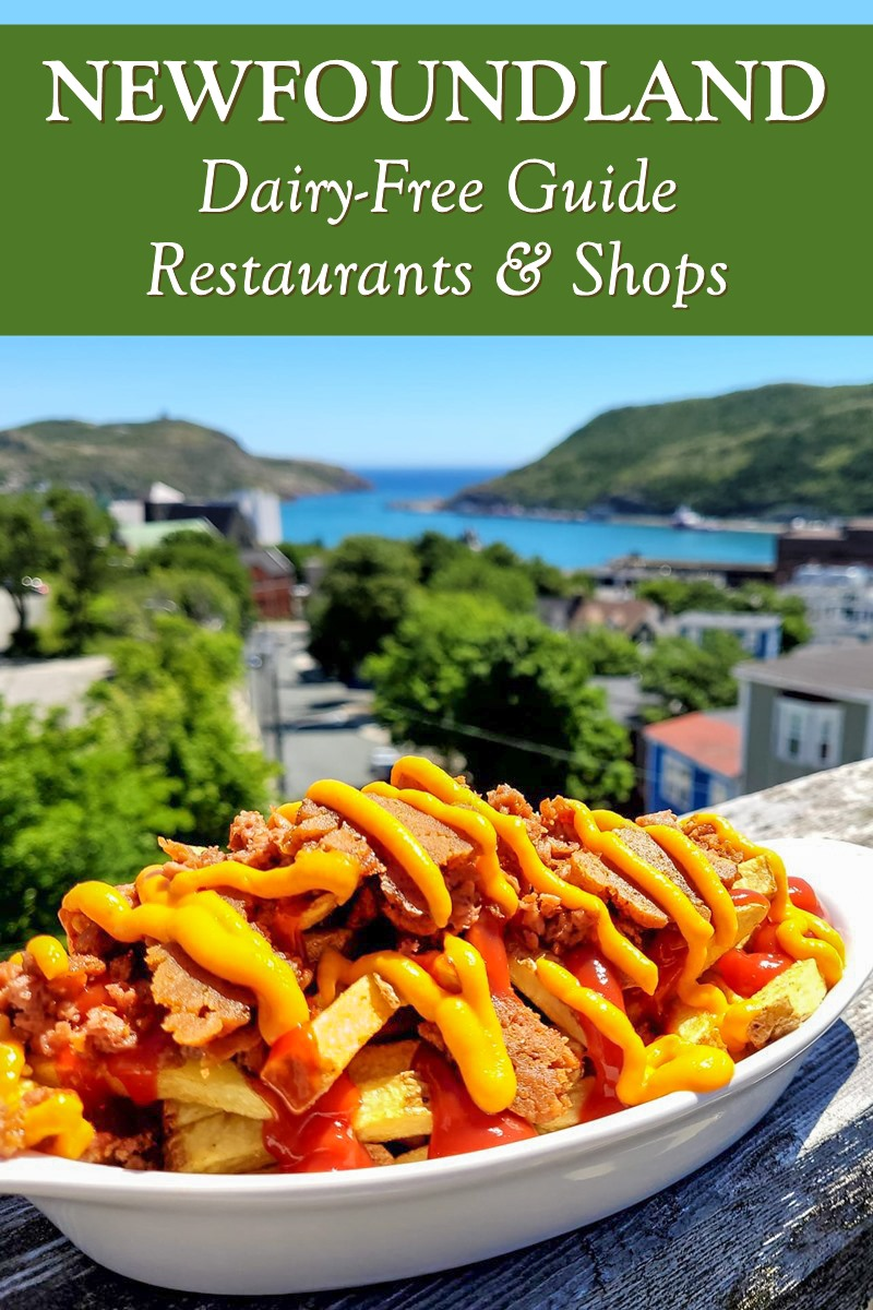 Dairy-Free Newfoundland: Recommended Restaurants & Shops with vegan and gluten-free options