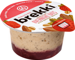 Brekki Overnight Oats Reviews and Info - Dairy-Free, Gluten-Free, Plant-Based Single-Serves of Oatmeal in 7 Flavors. Convenient and made with simple, wholesome ingredients.