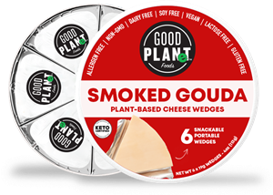 Good Planet Plant-Based Cheese Wedges Reviews and Info - These Snackable wedges are gluten-free, dairy-free, nut-free, soy-free, vegan, and keto-friendly! Similar type product to Laughing Cow