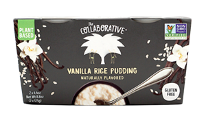 The Collaborative Pudding & Mousse Cups Reviews & Info (Plant-Based, Dairy-Free, Gluten-Free, Vegan) In Chocolate Pudding, Vanilla Rice Pudding, and Double Chocolate Mousse