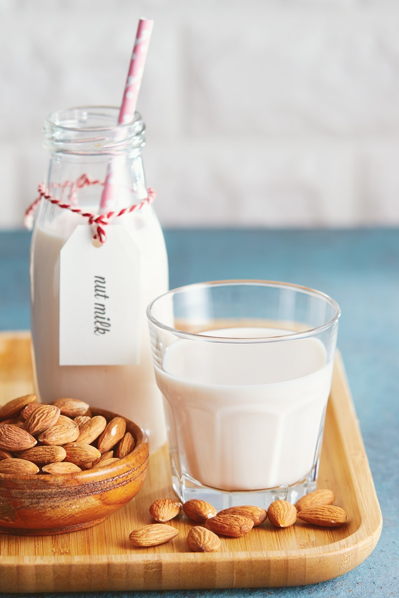 The Best Homemade Almond Milk Recipe (Plant-Based, Dairy-Free, Soy-Free, Gluten-Free, Additive-Free) with Sweetened, Unsweetened, Vanilla, Creamier, and Calcium Fortified Options
