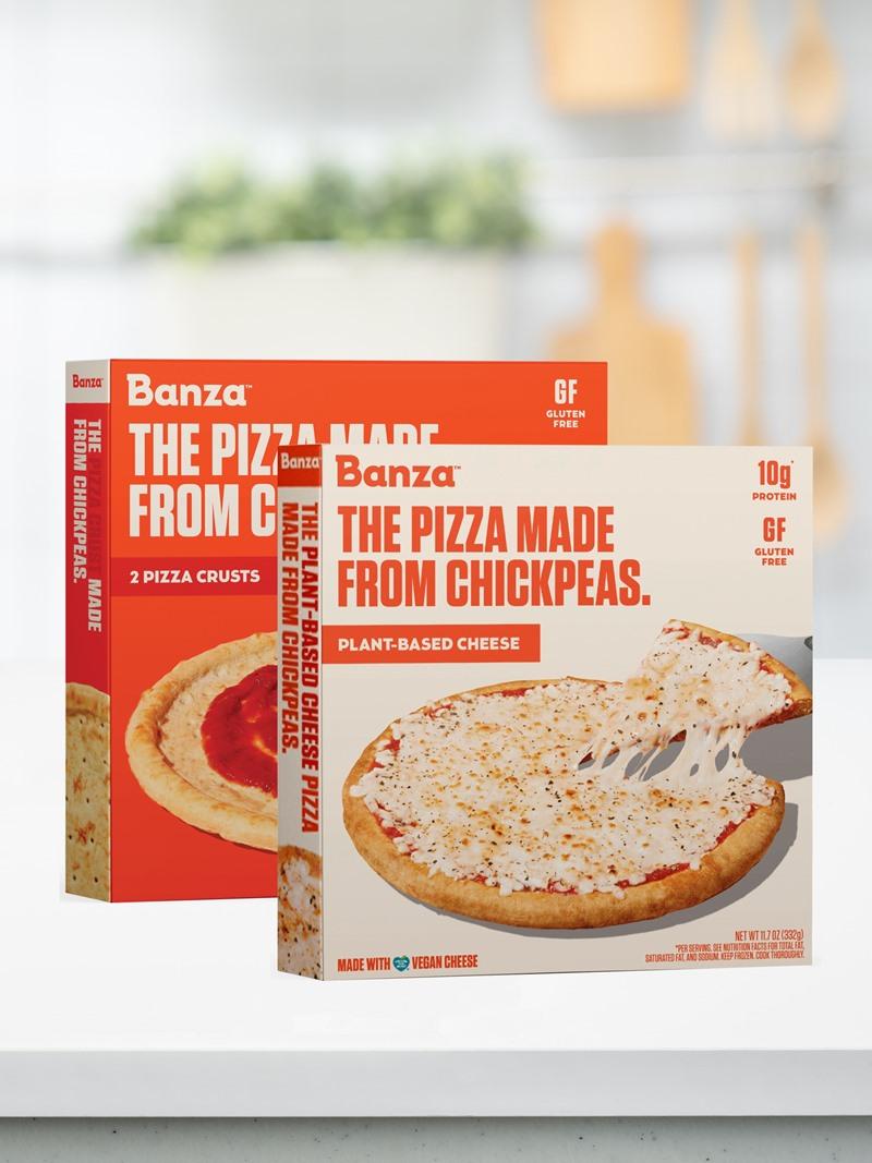 Banza Plant-Based Frozen Pizza Reviews & Info (Dairy-Free, Gluten-Free)