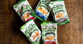Bubba's Keto Nut Mixes Review (Dairy-Free, Gluten-Free, Paleo, Vegan) in Pepperoni Pizza, Cookie Dough, Sour Cream & Chive, and More