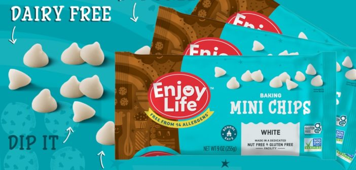 Enjoy Life White Baking Chips are a New Kind of Mini Morsels
