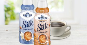 Silk Protein Almond Creamer is Enhanced with Plant-Based Protein and Vitamin A - Reviews and Info - Dairy-Free, Soy-Free, Vegan